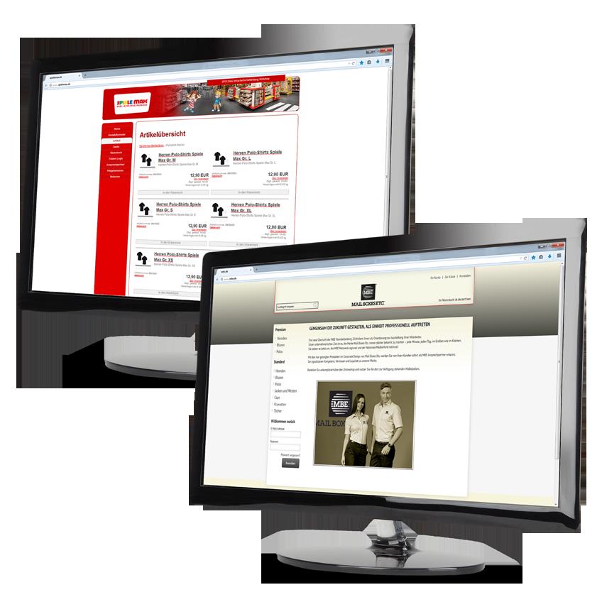 Full-Service, webshop, brandident